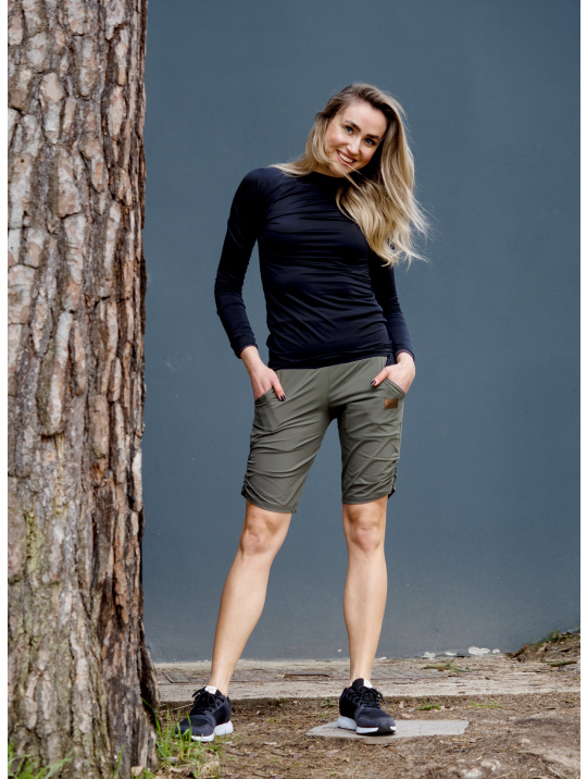 IceDress Drexiss outdoor kraťasy KHAKI