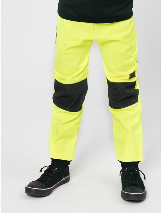 IceDress Drexiss zimní soft NEON YELLOW-GREY