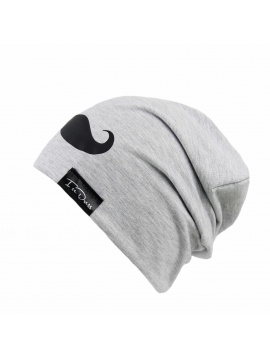 IceDress IceDress čepka MOVEMBER GREY