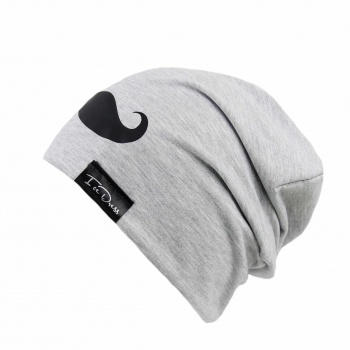IceDress IceDress čepka GREY MOVEMBER