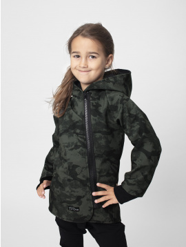 IceDress IceDress SOFT bunda ARMY BLACK