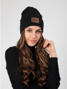 IceDress Drexiss bavlněná čepka winter BLACK