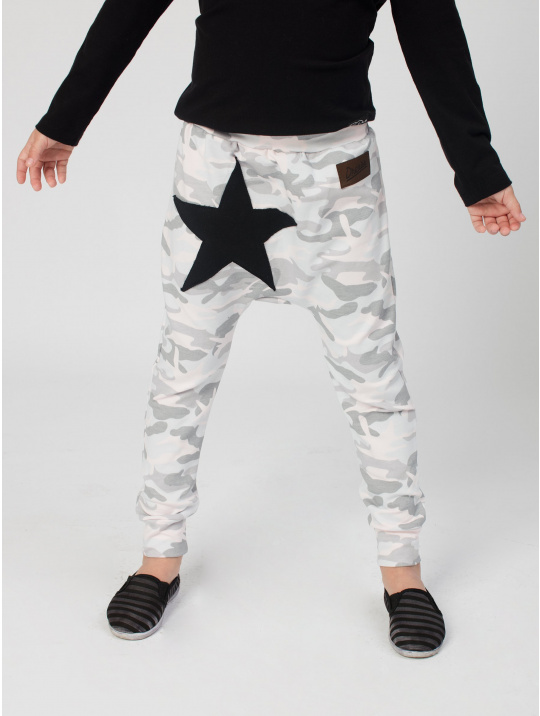 IceDress Drexiss baggy ARMY GREY STAR